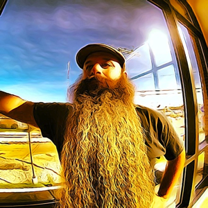 Justin Kelcourse, a two-time World Beard and Moustache Competitor, will judge the CanAm Beard and Moustache Competion.